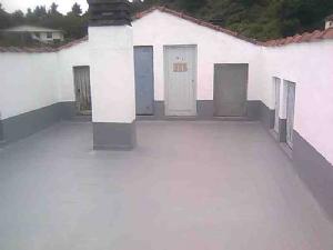 Pintura de caucho para terrazas pintura antigoteras for Impermeabilizar terraza transitable