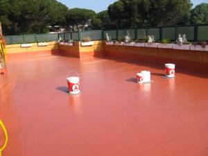Impermeabilizar terraza con caucho materiales de - Caucho para tejados ...
