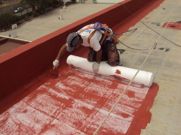 Pintura de caucho para terrazas gallery of membrana en - Pintura impermeabilizante terrazas ...